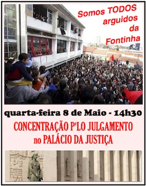 SOMOS TODXS ARGUIDOS DA FONTINHA! (Portugal)