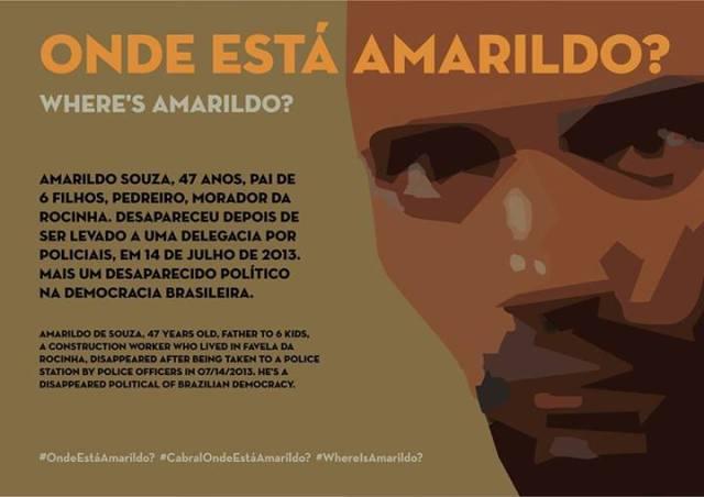 Onde está o Amarildo?