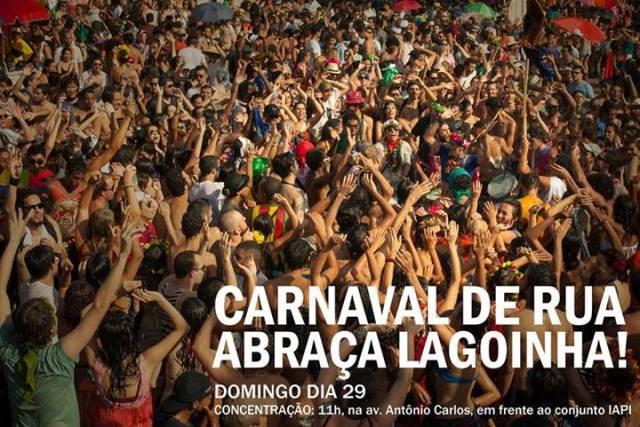 CONTRA OS DESMANDOS DE LACERDA (BH), CARNAVAL DE RUA ABRAÇA LAGOINHA