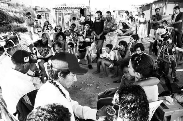 Fotos do aulão sobre a Questão Indigena na GK!